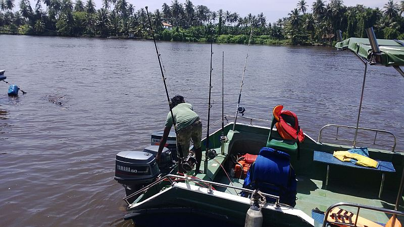 Deep See Fishing in Sri Lanka